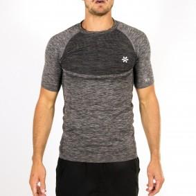 Hockey clothes - Osaka clothes - kopen - Osaka Tech Knit Short Sleeve Tee Men – Black Melange