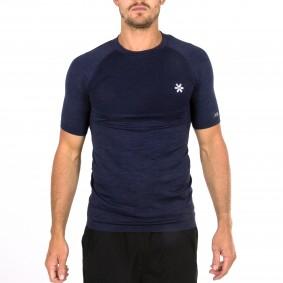 Hockey clothes - Osaka clothes - kopen - Osaka Tech Knit Short Sleeve Tee Men – Navy Melange