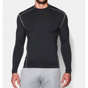 Hockey clothes - Thermo clothes - kopen - Under Armour ColdGear Armour Compression LS – Black
