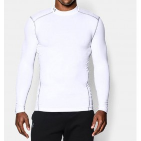 Hockey clothes - Thermo clothes - kopen - Under Armour ColdGear Armour Compression LS – White