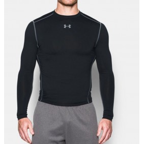 Hockey clothes - Thermo clothes - kopen - Under Armour ColdGear Armour Compression Crew – Black