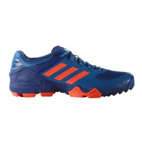 Adidas shoes - Fieldhockey outlet - Hockey shoes - kopen - Adidas AdiPower III Blue Orange 2017 Edition | 25% DISCOUNT DEALS