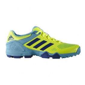 Adidas shoes - Fieldhockey outlet - Hockey shoes - kopen - Adidas AdiPower III Yellow-Light blue 2017 Edition | 25% DISCOUNT DEALS