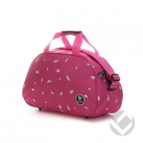 Hockey bags - Shoulder bags - kopen - Brabo Shoulderbag Feathers Pink | 25% DISCOUNT DEALS