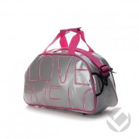 Hockey bags - Shoulder bags - kopen - Brabo Shoulderbag Love Silver | 25% DISCOUNT DEALS