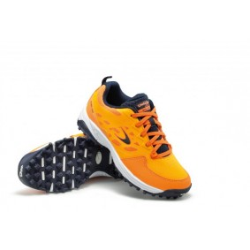 Dita shoes - Hockey shoes - Junior hockey shoes - kopen - Dita STBL 100 Orange / Navy Junior hockey shoes