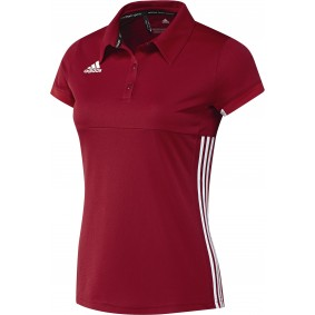 Hockey clothes - Hockey shirts - kopen - Adidas T16 Team Polo Women Red