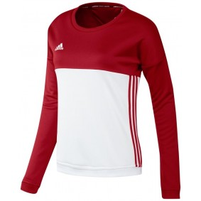 Hockey clothes - Hockey sweaters - kopen - Adidas T16 Crew Sweat Women Red