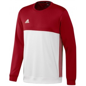 Hockey clothes - Hockey sweaters - kopen - Adidas T16 Crew Sweat Men Red