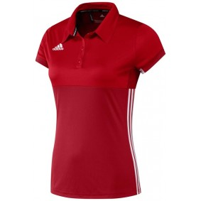 Hockey clothes - Hockey shirts - kopen - Adidas T16 Climacool Polo Women Red