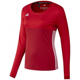 Hockey clothes - Hockey shirts - kopen - Adidas T16 Climacool Long Sleeve Tee Women Red