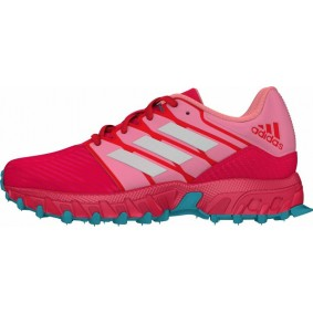 Adidas shoes - Hockey shoes - Junior hockey shoes - kopen - Adidas Hockey Lux Junior Pink-Light Blue