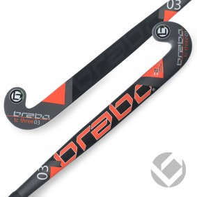 Brabo - Hockey sticks - kopen - Brabo Tribute TC-3.24 Black / Orange