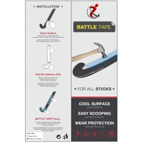 Hockey accesories - Hockey tape - kopen - Hockeygear.eu Battle Tape Black