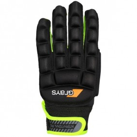 Hockey gloves - Protection - kopen - Grays International Pro Glove Neonyellow left