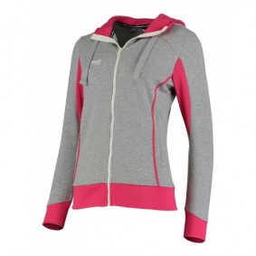 Hockey clothes - Hockey sweaters - kopen - Reece Kate Hooded Sweater Full Zip navy grey/pink