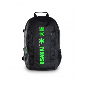 Backpacks - Hockey bags - kopen - Osaka X LARGE BACKPACK – BLACK / GREEN + Laptop pocket | 25% DISCOUNT DEALS