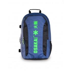 Backpacks - Hockey bags - kopen - Osaka x LARGE BACKPACK – NAVY / GREEN + Laptop pocket | 25% DISCOUNT DEALS