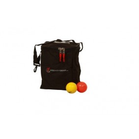 Hockey accesories - Referee, coach and trainer - kopen - Hockeygear.eu hockeyballs bag for 24 balls black