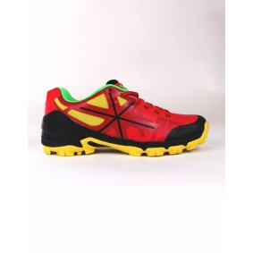 Fieldhockey outlet - Hockey shoes - Osaka shoes - kopen - Osaka MEN SHOE PRO TOUR RED / BLACK / YELLOW (SALE)