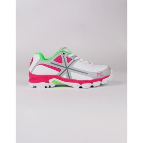 Fieldhockey outlet - Hockey shoes - Osaka shoes - kopen - Osaka WOMEN SHOE PRO TOUR WHITE / PINK / GREY (SALE)