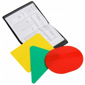 Hockey accesories - Referee, coach and trainer - kopen - Referee cards 5 packages