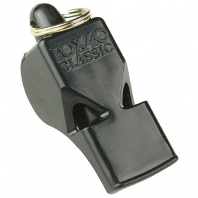 Hockey accesories - Referee, coach and trainer - kopen - Referee whistle Stanno Fox 40 black 5 pieces