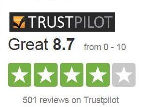 our hockey shop reviews on Trustpilot