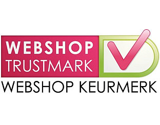 our webshop certificate on www.keurmerk.info