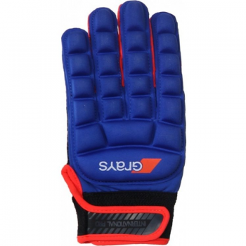 Grays International Pro Glove Neon Blue/Fluo Red left. Normal price: 22.1. Our saleprice: 17.70