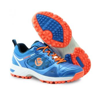 Brabo Tribute hockey shoes Blue/Orange. Normal price: 39.8. Our saleprice: 29.90