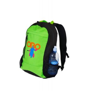 Backpack green. Normal price: 34.55. Our saleprice: 29.95