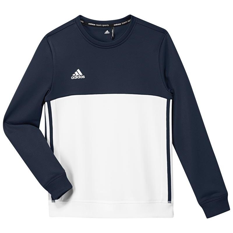 Adidas Hockey Sweatshirts - Adidas T16 Crew Sweat youth Navy