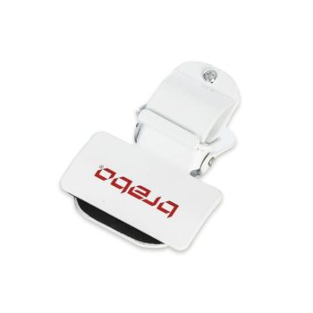 Brabo bicycle clip White. Normal price: 11.5. Our saleprice: 9.70