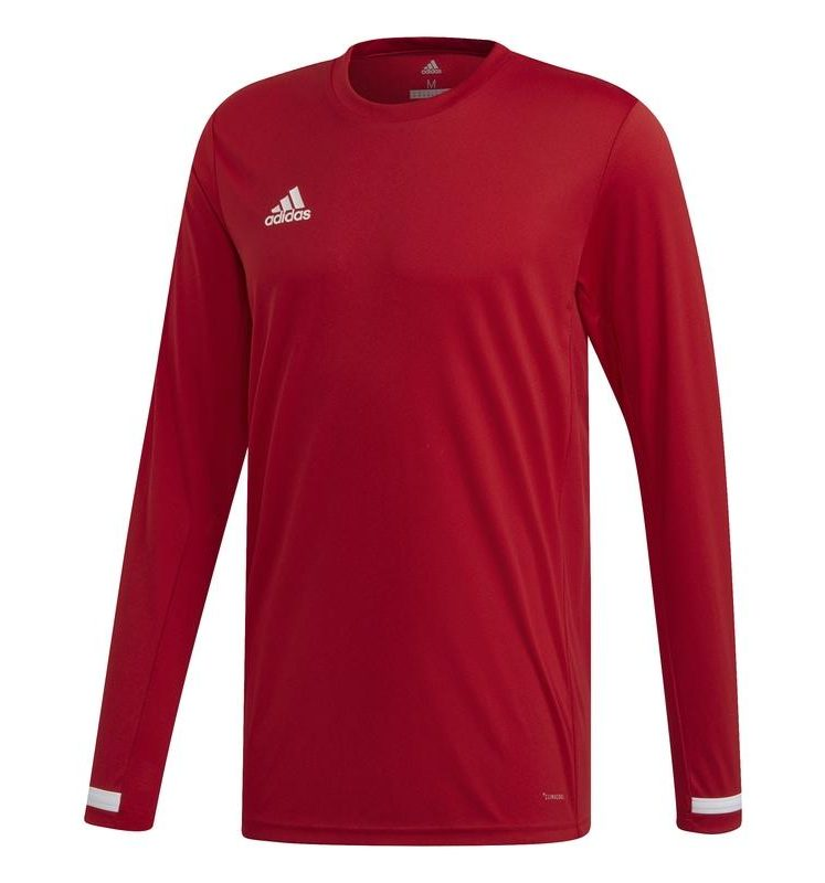 Adidas T19 Long Sleeve Tee men red | Deliverable from 15-07-2019!. Normal price: 35.4. Our saleprice: 29.95