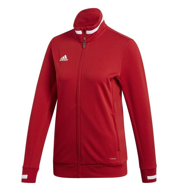 Adidas T19 Track Jacket women red. Normal price: 48.65. Our saleprice: 41.60