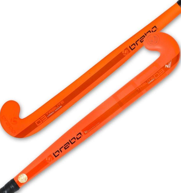 Brabo IT-3 CC Fluor Orange Jr | super sale indoor hockey stick. Normal price: 26.55. Our saleprice: 19.45