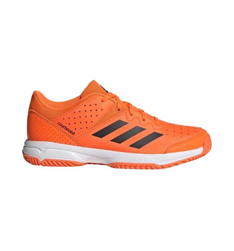 Adidas COURT STABIL Jr orange/black/white 2019-2020. Normal price: 48.65. Our saleprice: 29.95