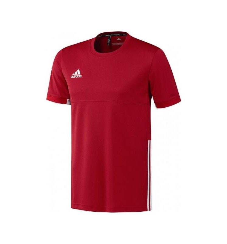 Adidas T16 Team Short Sleeve Team Tee youth boys Red DISCOUNT DEALS. Normal price: 17.7. Our saleprice: 8.85