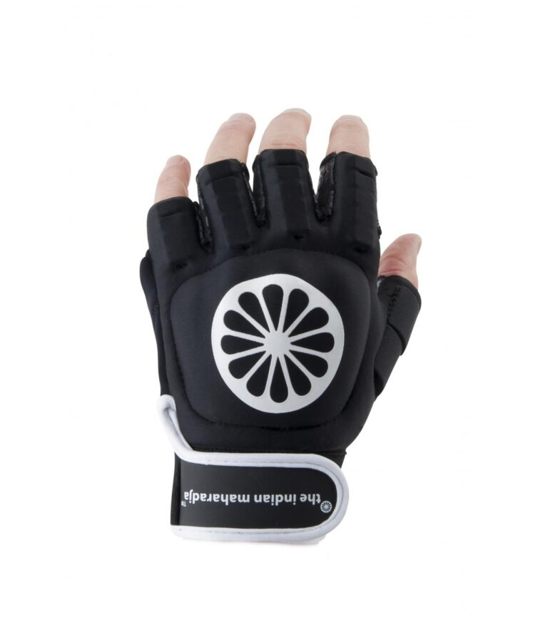 The Indian Maharadja Glove Shell Half Finger left - black. Normal price: 22.1. Our saleprice: 18.55