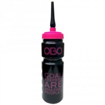 Obo Goalie Water Bottle Pink. Normal price: 5.35. Our saleprice: 4.80