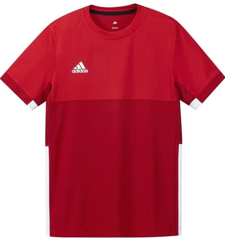 Adidas T16 Climacool Short Sleeve Tee youth boys Red DISCOUNT DEALS. Normal price: 20.35. Our saleprice: 9.95
